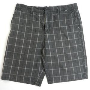 Hurley Shorts Mens Grey Size 33